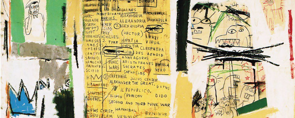 basquiat, crown, New York, Neo Expressionism, Graffiti Art, urban, legend