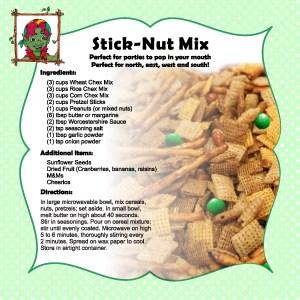 stick nut mix
