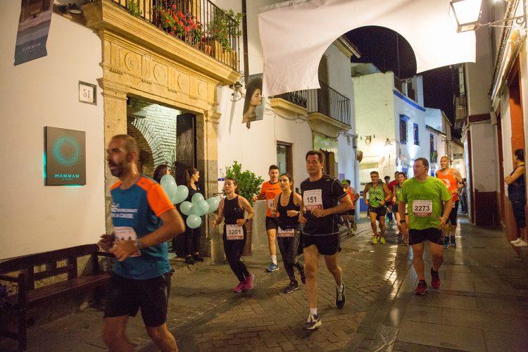 Carrera Nocturna de Córdoba, el premio es el camino