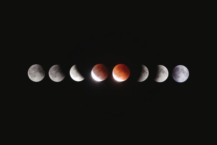 El eclipse lunar más largo de lo que llevamos de siglo XXI