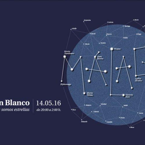 La noche en Blanco de Málaga, donde las estrellas son las protagonistas