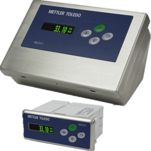 IND 331 DIN and Harsh PLC terminal