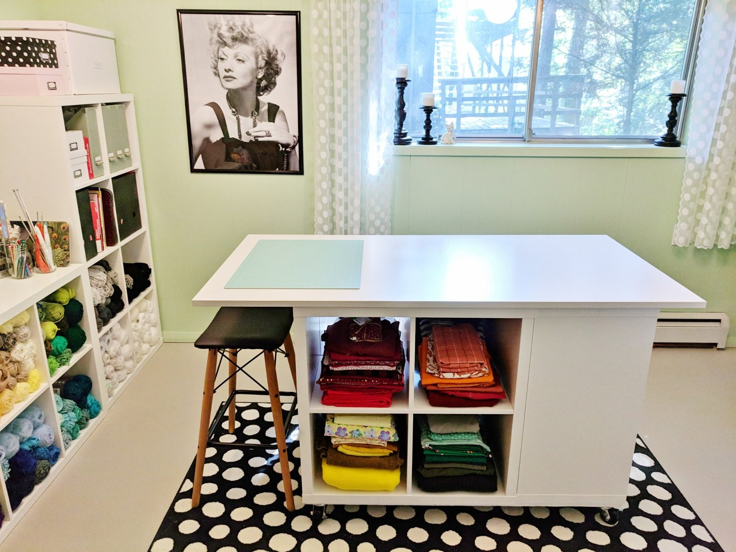 Lucy-Themed Craft Room Makeover
