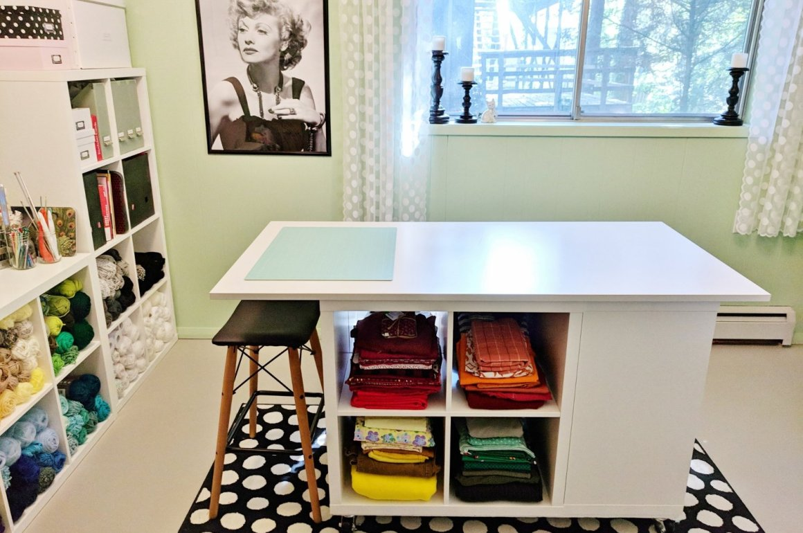Craft Room Makeovers: Lucy-themed Craft Room Makeover