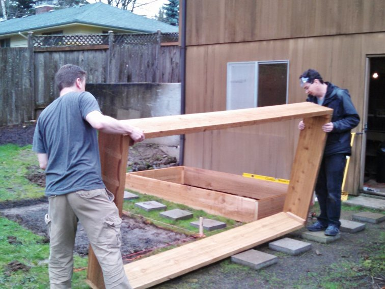 Positioning your raised beds in the garden