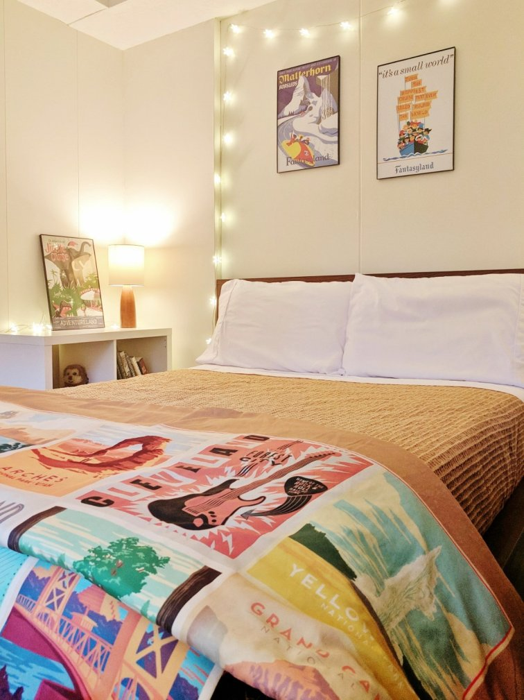 How to Make a Basement Guest Room Work