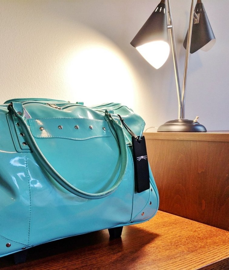 Provide an elevated spot for houseguests to access luggage