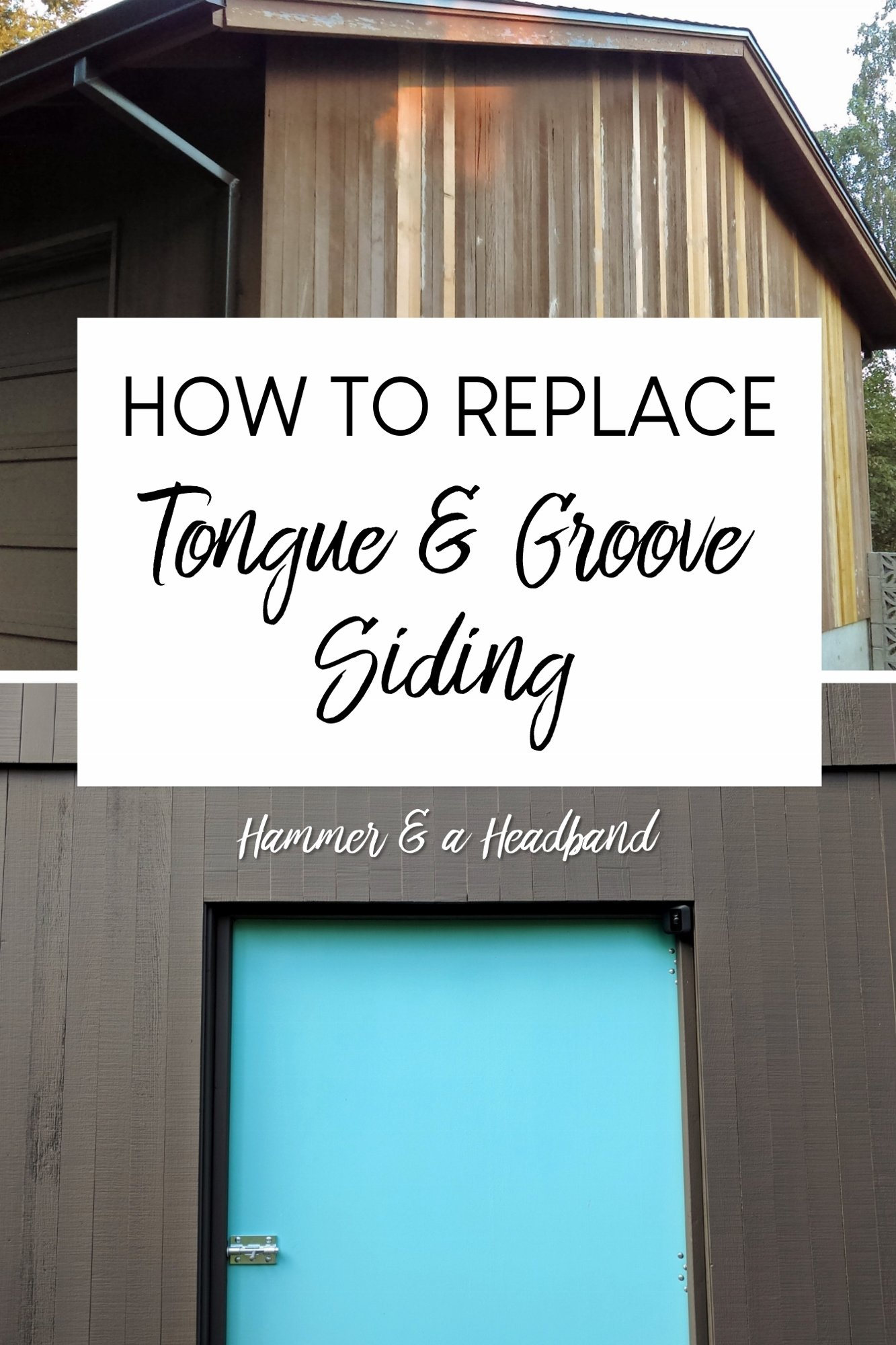 How To Replace Tongue And Groove Siding