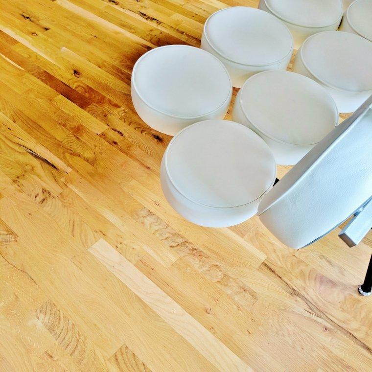 New hardwood floors // home improvement ideas