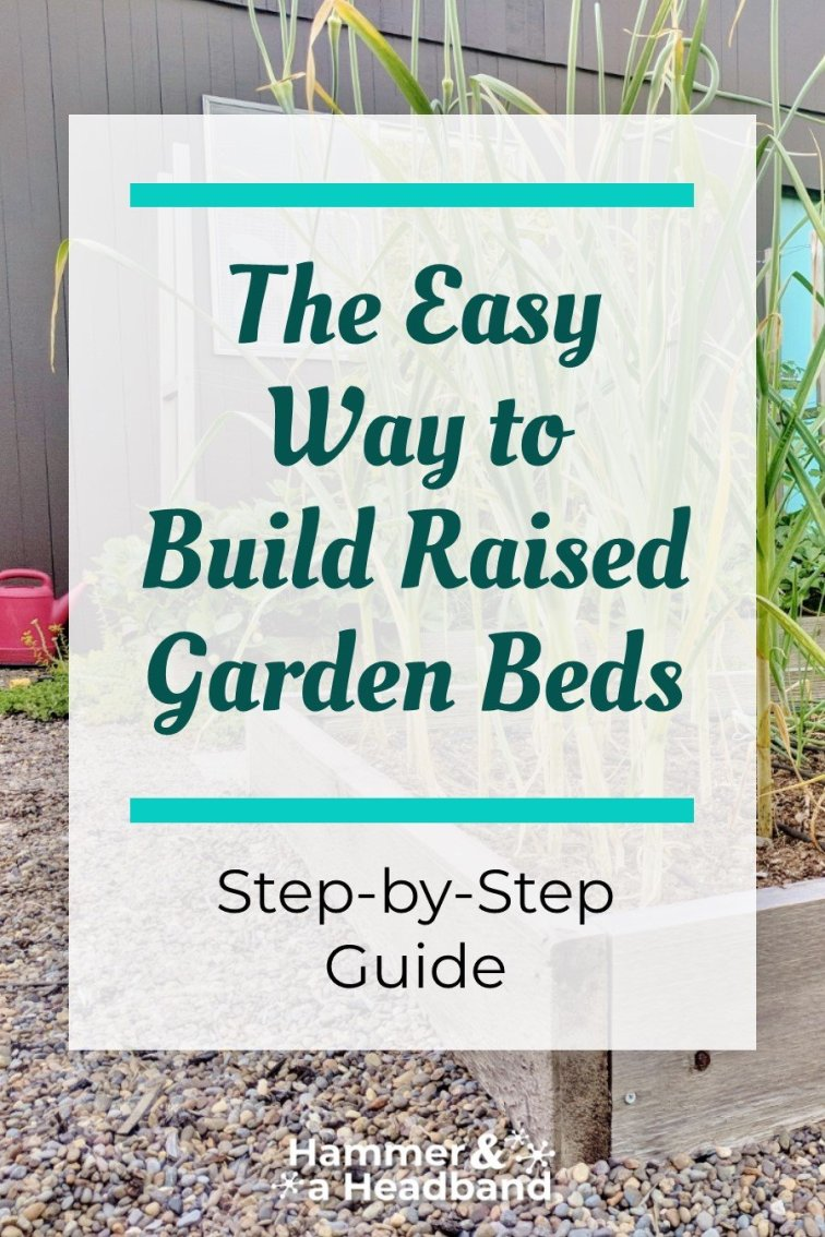 The easy way to build raised garden beds