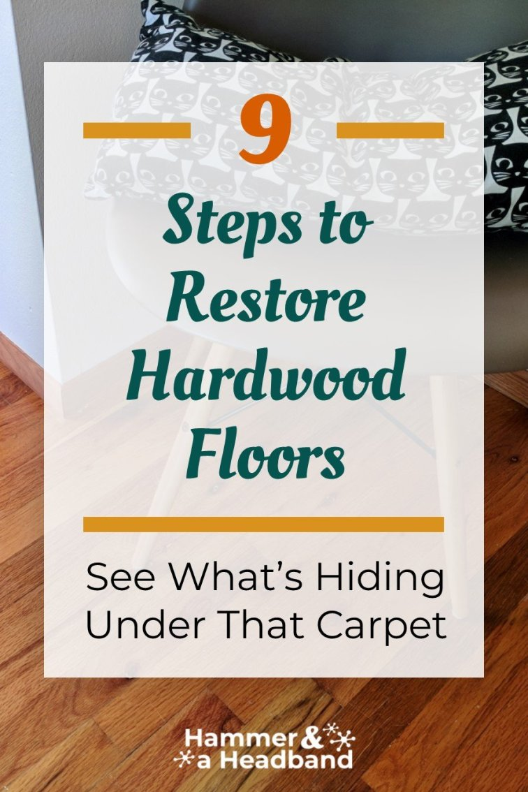9 steps to restore hardwood floors