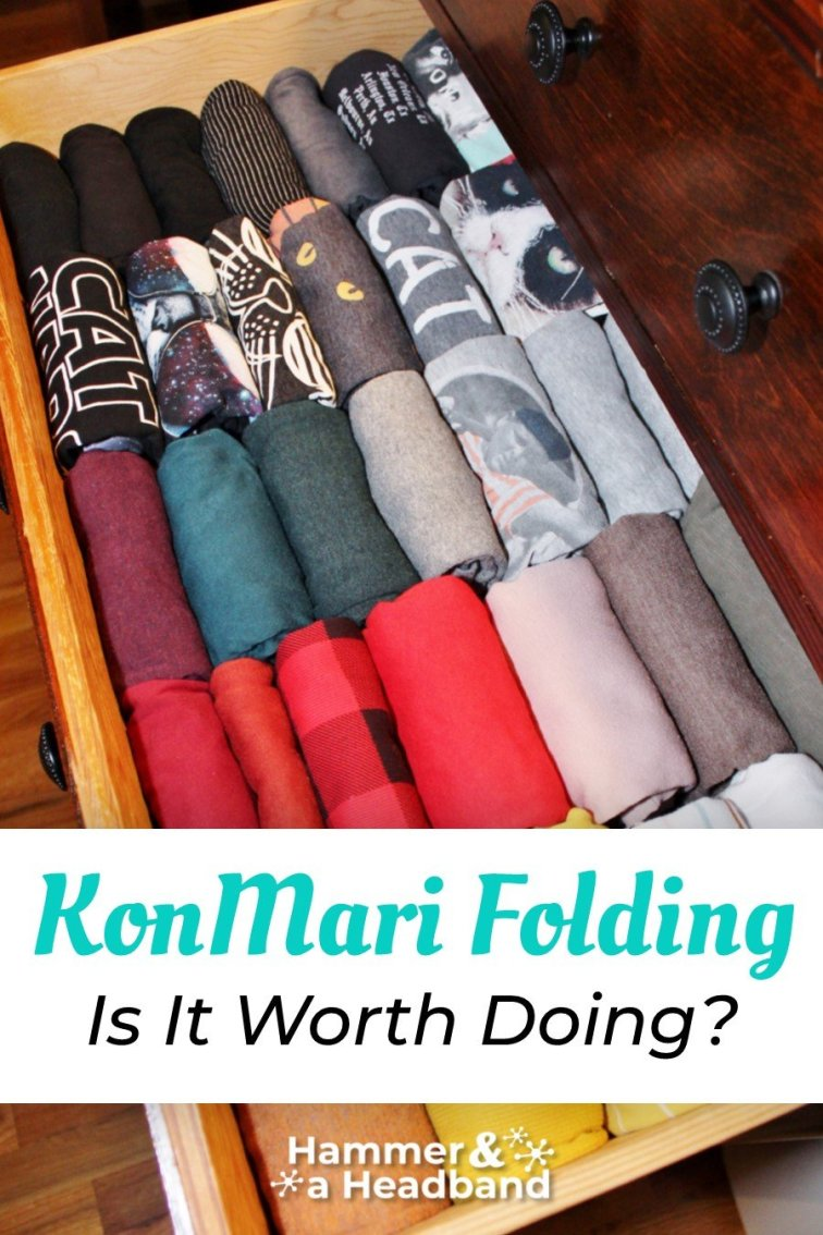 KonMari folding method