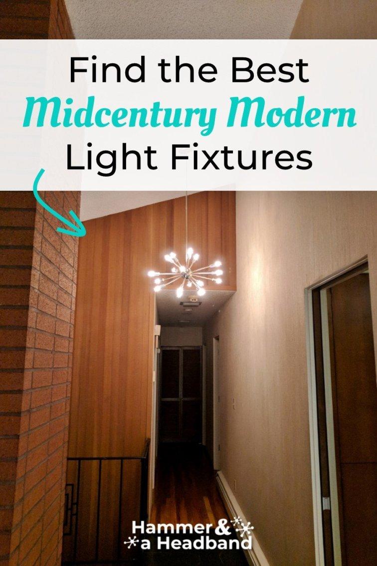 Find the best mid-century modern light fixtures
