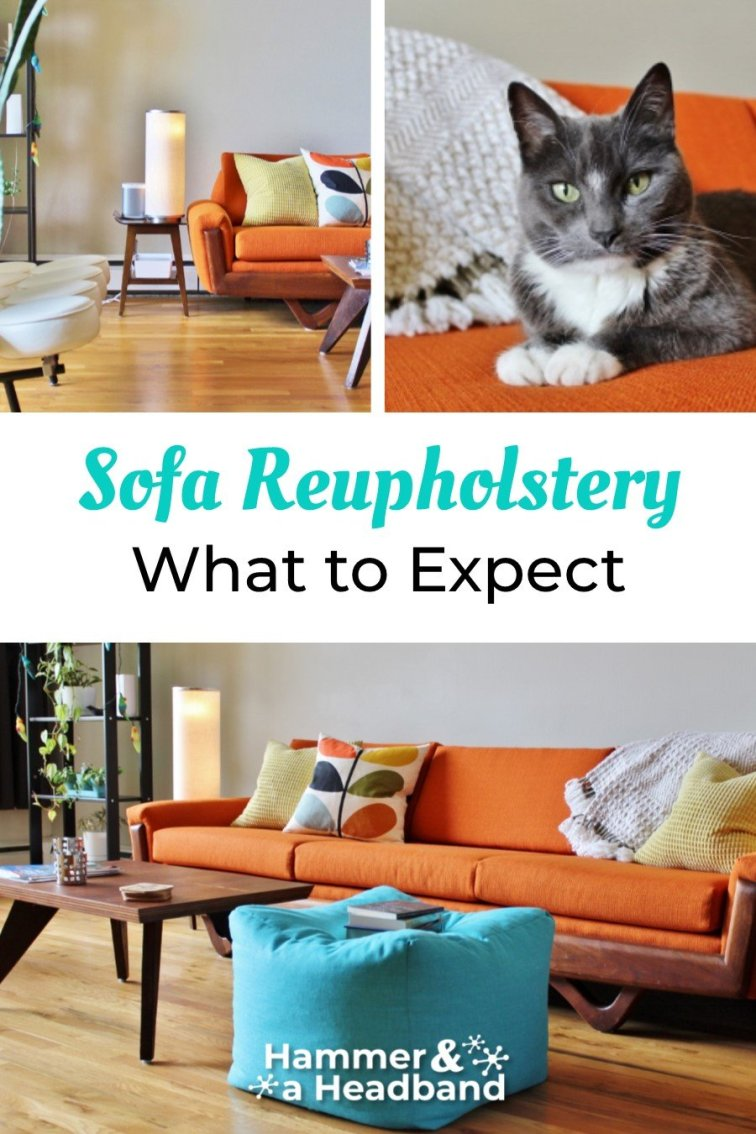 What to expect with sofa reupholstery