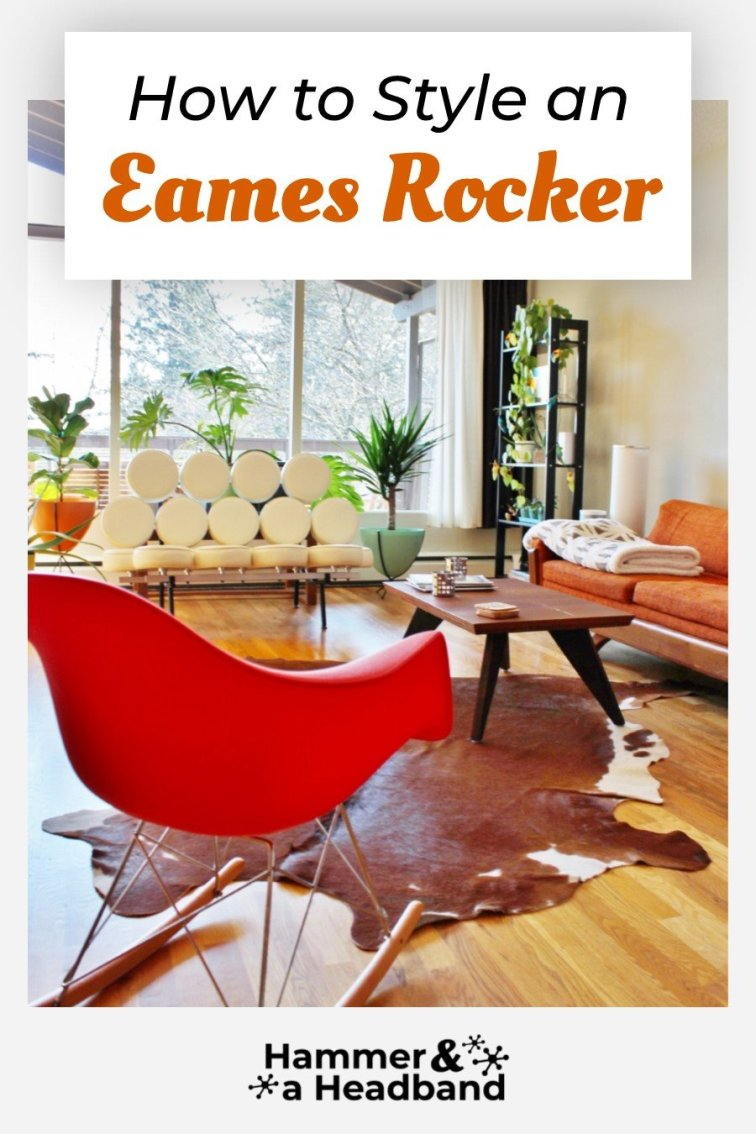 How to style an Eames rocker