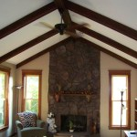 Weave Wood Ceiling Before