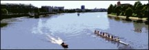 Rowing in Hammersmith