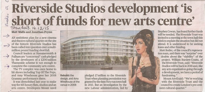 Standard - Riverside Studios