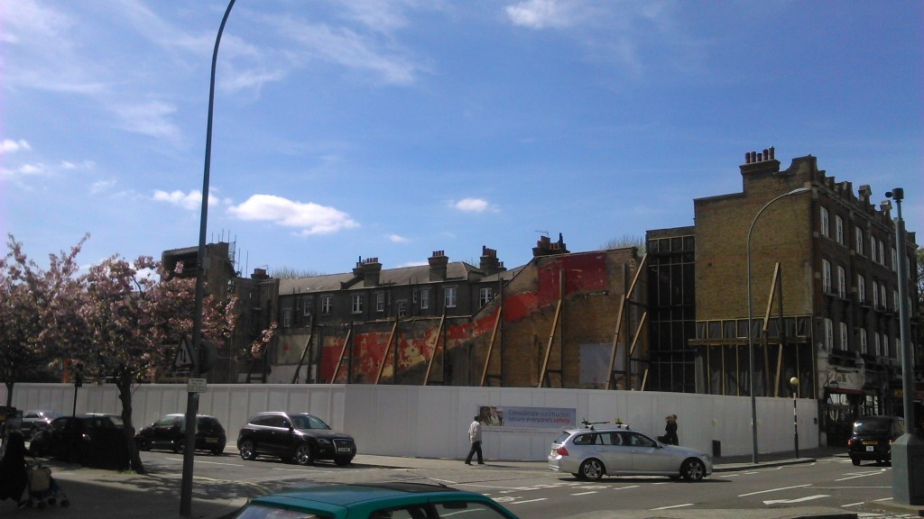 Cineworld Hammersmith demolished