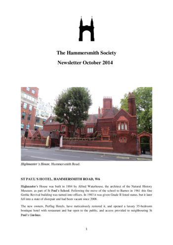 October-2014_newsletter_Hammersmith-Society