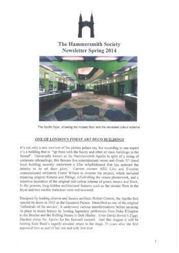 2014_spring_hammersmith-society-newsletter