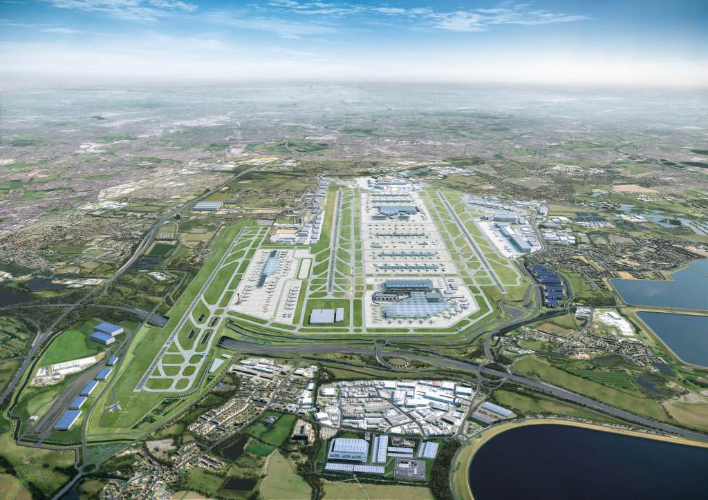 Heathrow proposed expansion 2022-2030