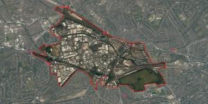 OPDC aerial view