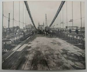 Hammersmith Bridge Construction