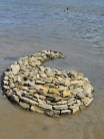 River sculpture
