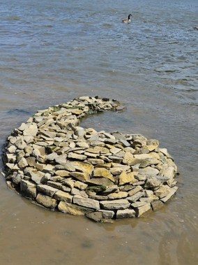 River sculpture