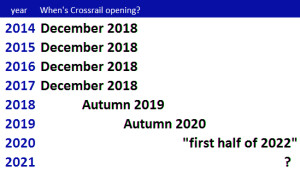 crossrail delays