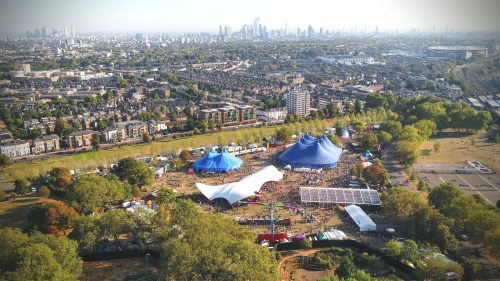 Hospitality in the Park (Finsbury Park)