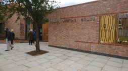 Quaker meeting house frontage