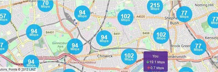 Local Broadband map