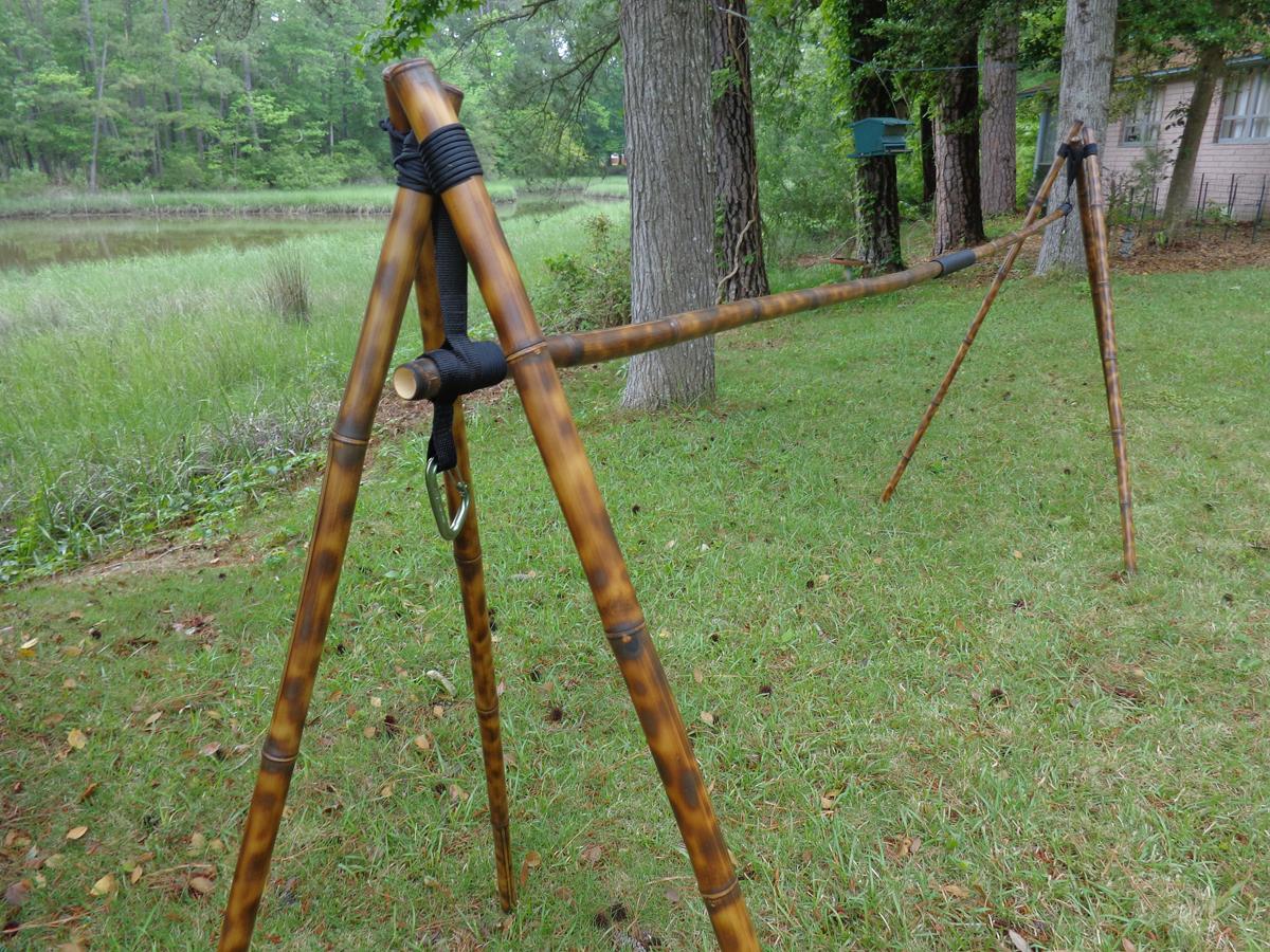Geotrek Bamboo Hammock Stand