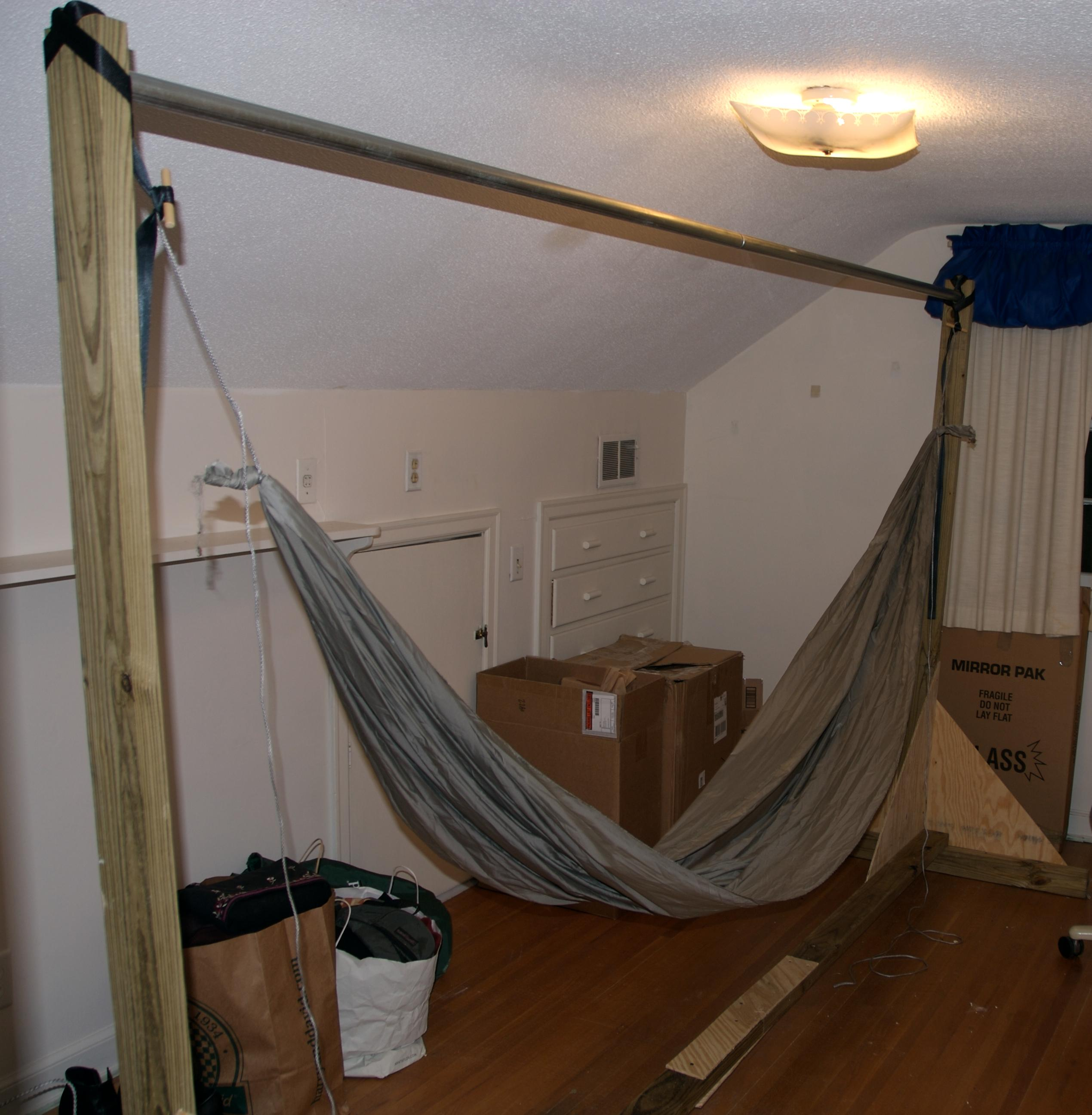 26 Awesome Hammock Stands Diy