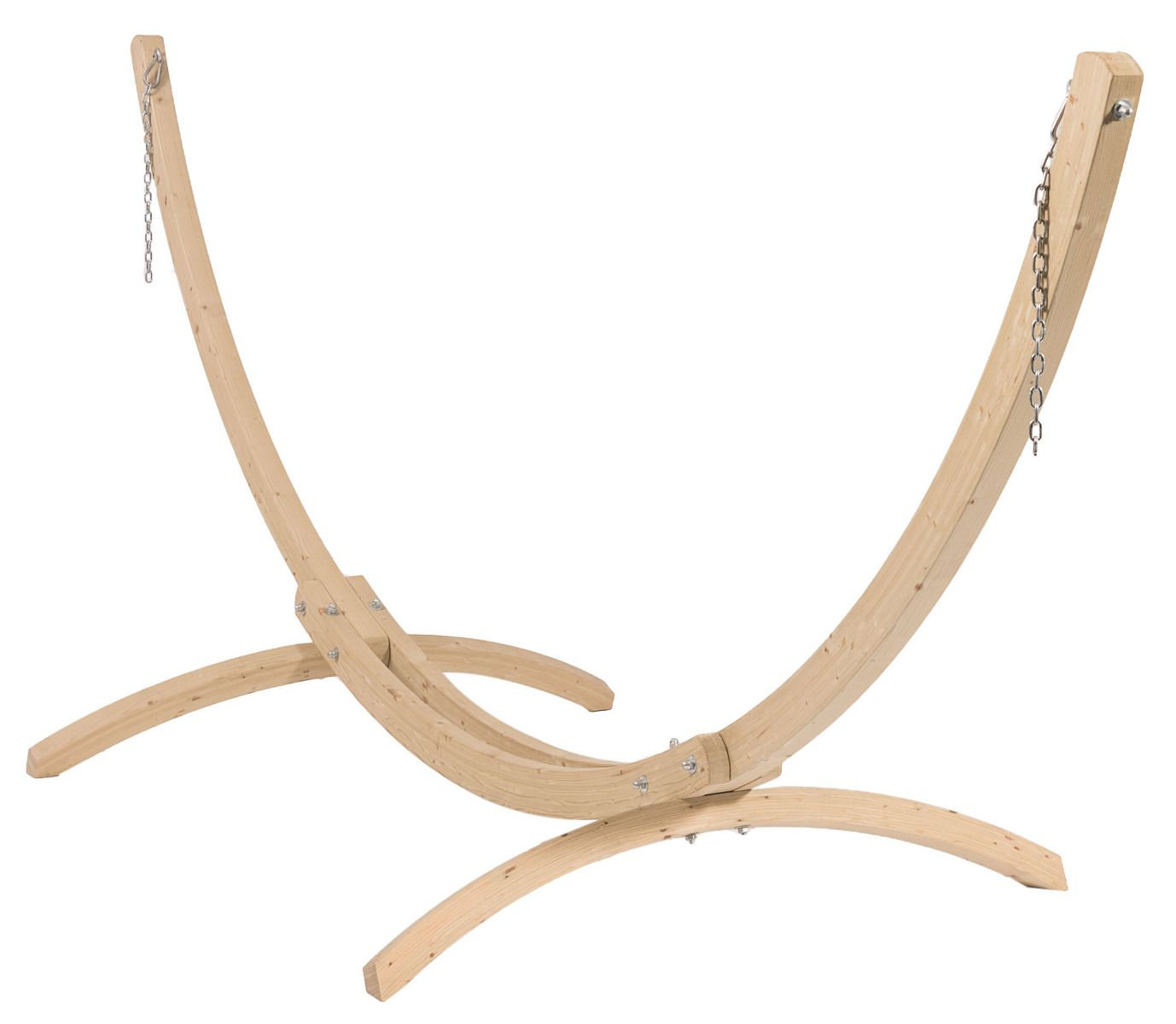 Hammock Stand Double Wood