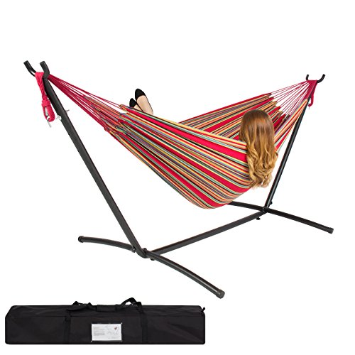 best choice double hammock with space saving steel stand best hammock with stand   ultimate buying guide and review 2017  rh   hammockgurus