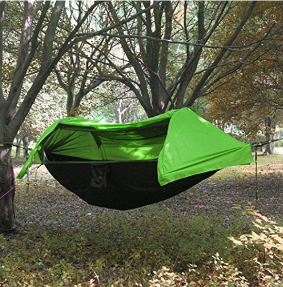 URIJK Outdoor Hammock Tent with Mosquito Net and Rainfly Rain Cover Waterproof Windproof Shelter Portable Green | Hammock Tent Shop & URIJK Outdoor Hammock Tent with Mosquito Net and Rainfly Rain ...