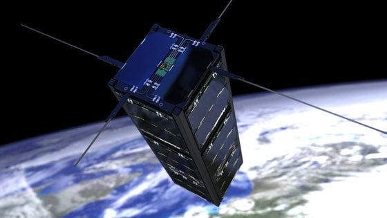De Triton-1 satelliet