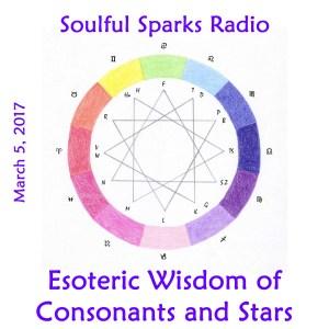 Consonants and Stars on Soulful Sparks Radio, Mar-5-2017