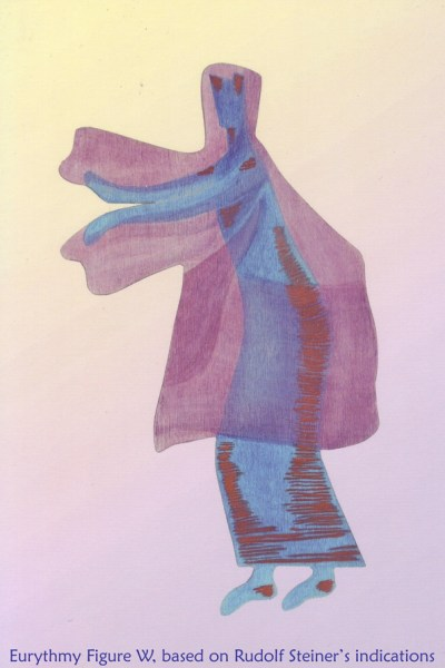Eurythmy Figure W, based on Rudolf Steiner's indications