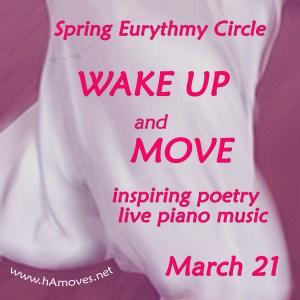 Spring Eurythmy Circle: Wake Up and Move, Mar 21, 2017, 7 pm, Balance Arts Center, NYC