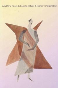 Eurythmy figure S, based on Rudolf Steiner's indications