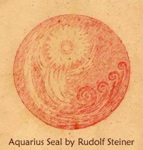 Aquarius Seal by Rudolf Steiner