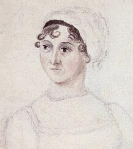 Jane Austen as drawn by her sister Cassandra