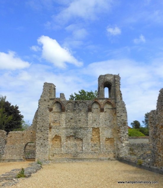 Ruins of Wolvesley Palace Winchester