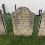 Napoleonic soldiers grave