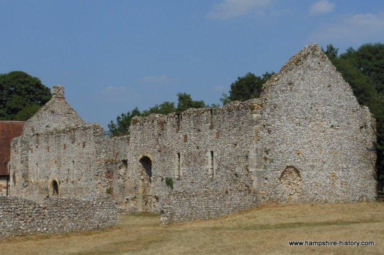 Bishop Waltham's Palace Hampshire