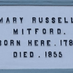 Mary Mitford Plaque